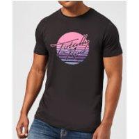 Totally Rad Men's T-Shirt - Black - L - Black
