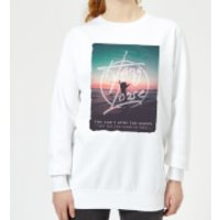 Hang Loose Women's Sweatshirt - White - 3XL - White