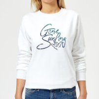 Gone Surfing Women's Sweatshirt - White - XXL - White - Surfing Gifts