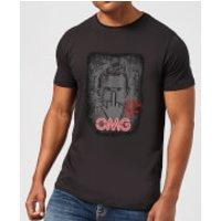 Camiseta American Gods Chico Tecnológico - Hombre - Negro - L - Negro