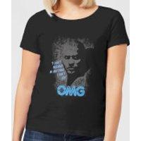 American Gods Shadow OMG Women's T-Shirt - Black - XXL - Black