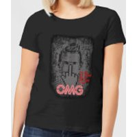 American Gods Technical Boy Womens T-Shirt - Black - L - Black
