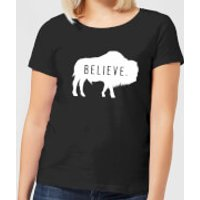 American Gods Believe Buffalo Women's T-Shirt - Black - XL - Black