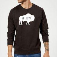 American Gods Believe Buffalo Sweatshirt - Black - XL - Black