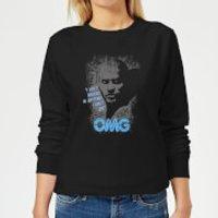 American Gods Shadow OMG Women's Sweatshirt - Black - XL - Black