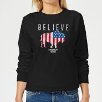 American Gods Believe In Bull Women's Sweatshirt - Black - XXL - Black