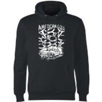 American Gods Car Storm Hoodie - Black - S - Black