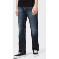 Nudie Jeans Men's Sleepy Sixteen Straight Jeans - Authentic Dark - W30/L34 - Blue