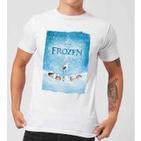 Camiseta Disney Frozen Póster - Hombre - Blanco - XL - Blanco