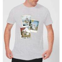 Die Eiskönigin Olaf Polaroid Herren T-Shirt - Grau - M - Grau