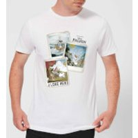 Die Eiskönigin Olaf Polaroid Herren T-Shirt - Weiß - S - Weiß