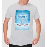 Frozen Snow Poster Men's T-Shirt - Grey - XXL - Grey - Snow Gifts