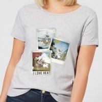 Die Eiskönigin Olaf Polaroid Damen T-Shirt - Grau - XS - Grau