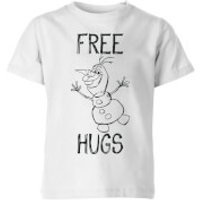 Frozen Olaf Free Hugs Kids' T-Shirt - White - 11-12 Years - White - Kids Gifts