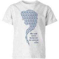 Disney Frozen The Cold Never Bothered Me Anyway Kids' T-Shirt - White - 5-6 Years - White - Kids Gifts