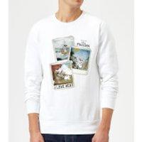 Die Eiskönigin Olaf Polaroid Pullover - Weiß - S - Weiß