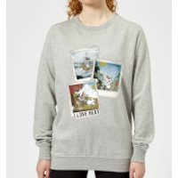 Disney Frozen Olaf Polaroid Women's Sweatshirt - Grey - XS - Grey