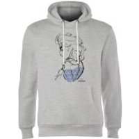 Disney Frozen Elsa Sketch Hoodie - Grey - XL - Grey