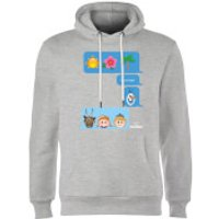 Disney Frozen I Love Heat Emoji Hoodie - Grey - L - Grey