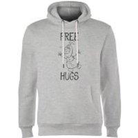 Disney Frozen Olaf Free Hugs Hoodie - Grey - XXL - Grey