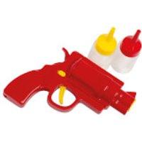 Eddingtons Tomato Sauce & Mustard Gun with 2 Bottles