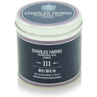 Charles Farris Signature Rubus Tin Candle 300g