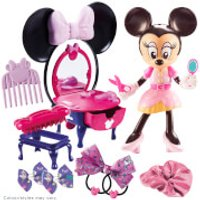 Little Live Pets Minnie Mouse Dressing Table and Hair Salon Set - Pets Gifts