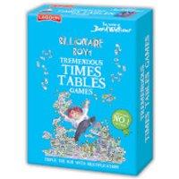 David Walliams Billionaire Boy's Tremendous Times Tables Games - Boys Gifts