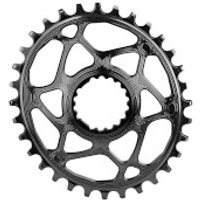 AbsoluteBLACK Cannondale Hollowgram Direct Mount Oval MTB Chainring - 30T - Black