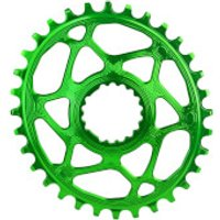 AbsoluteBLACK Cannondale Hollowgram Direct Mount Oval MTB Chainring - 32T - Green