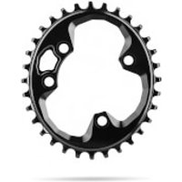 AbsoluteBLACK Rotor Oval MTB Chainring - 30T - 76BCD - Black