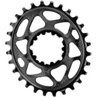 AbsoluteBLACK SRAM Boost 148 Direct Mount Oval MTB Chainring - 36T - 3mm Offset - Black