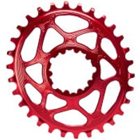 AbsoluteBLACK SRAM Boost 148 Direct Mount Oval MTB Chainring - 30T - 3mm Offset - Red