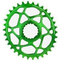 AbsoluteBLACK Cannondale Hollowgram Direct Mount Roung MTB Chainring - 34T - Green