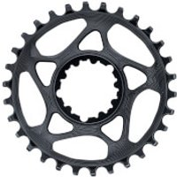 AbsoluteBLACK SRAM GXP Direct Mount Round MTB Chainring - 34T - Black