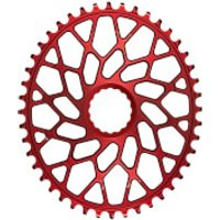 AbsoluteBLACK Easton EC90 SL Direct Mount Oval CX Chainring - 44T - Red