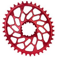 AbsoluteBLACK SRAM GXP/BB30 Direct Mount Oval CX Chainring - 36T - Red