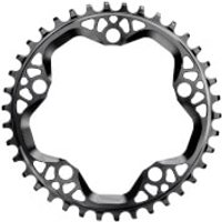 AbsoluteBLACK Round CX Chainring - 38T - 5 Bolt 130BCD - Black