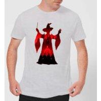 Harry Potter Minerva McGonagall Silhouette Men's T-Shirt - Grey - XXL - Grey