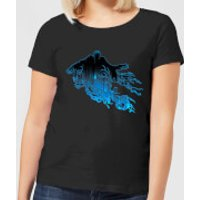 Harry Potter Dementor Silhouette Women's T-Shirt - Black - M - Black