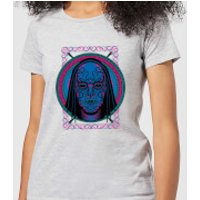 Harry Potter Neon Death Eater Mask Women's T-Shirt - Grey - S - Grey