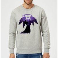 Harry Potter Graveyard Silhouette Sweatshirt - Grey - XL - Grey