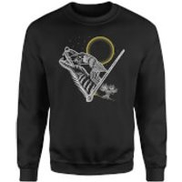 Harry Potter Werewolf Line Art Sweatshirt - Black - 4XL - Black