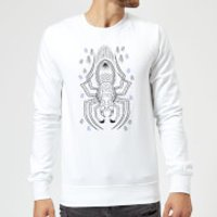 Harry Potter Aragog Line Art Sweatshirt - White - S - White