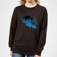Harry Potter Dementor Silhouette Women's Sweatshirt - Black - XS - Black