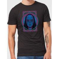 Harry Potter Neon Death Eater Mask Men's T-Shirt - Black - L - Black