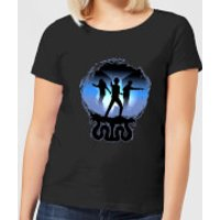 Harry Potter Silhouette Attack Women's T-Shirt - Black - S - Black