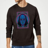 Harry Potter Neon Death Eater Mask Sweatshirt - Black - XXL - Black - Neon Gifts