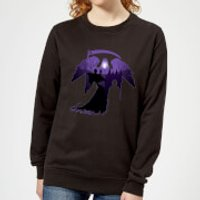 Harry Potter Graveyard Silhouette Women's Sweatshirt - Black - M - Black