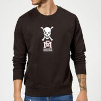 East Mississippi Community College Skull and Logo Sweatshirt - Black - 5XL - Black - College Gifts